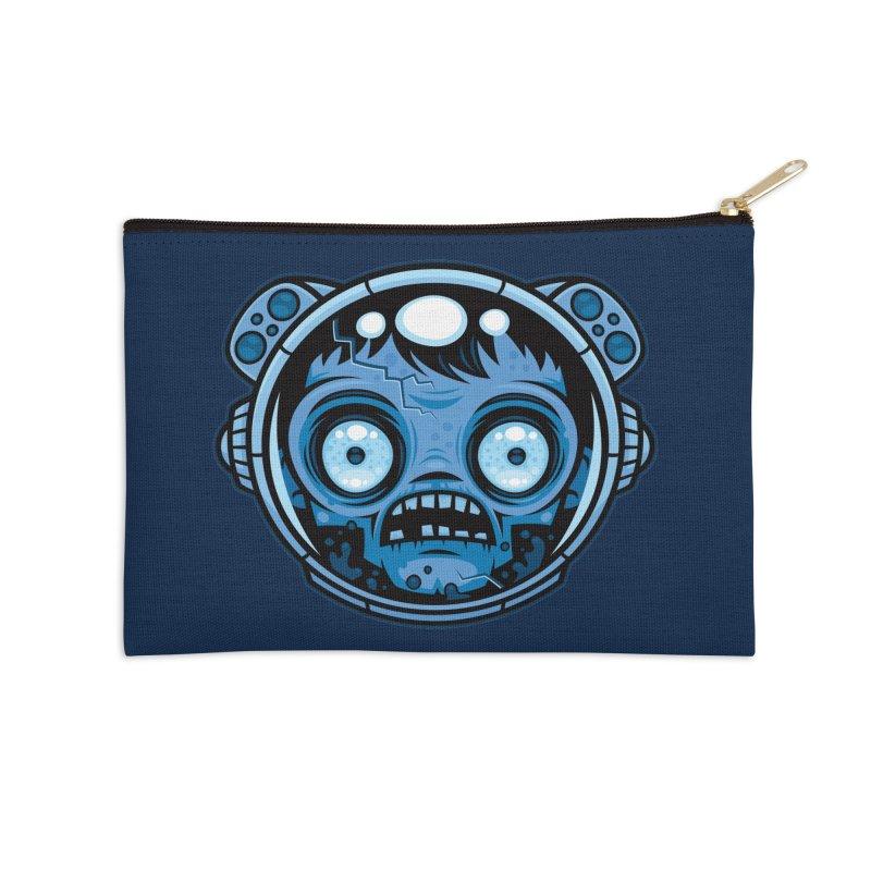 Zombie Astronaut Accessories Zip Pouch by Fizzgig's Artist Shop