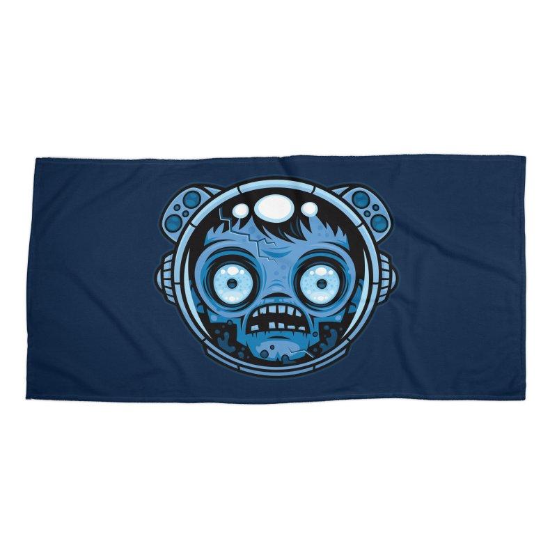 Zombie Astronaut Accessories Beach Towel by Fizzgig's Artist Shop
