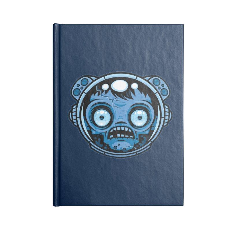 Zombie Astronaut Accessories Notebook by Fizzgig's Artist Shop