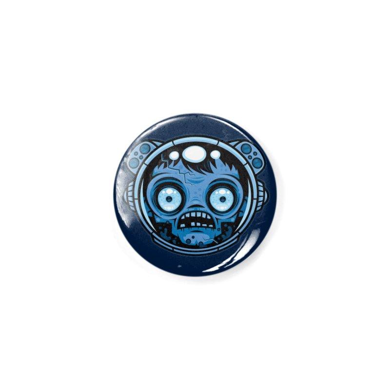 Zombie Astronaut Accessories Button by Fizzgig's Artist Shop