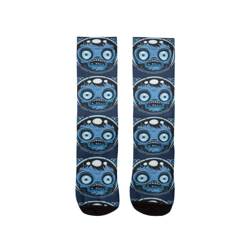 Zombie Astronaut Women's Socks by Fizzgig's Artist Shop