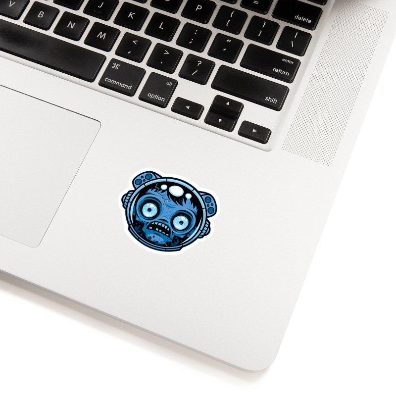Zombie Astronaut Accessories Sticker by Fizzgig's Artist Shop