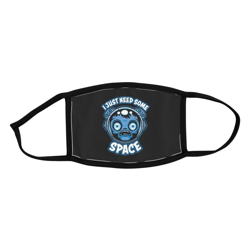 Zombie Astronaut Needs Some Space Accessories Face Mask by Fizzgig's Artist Shop