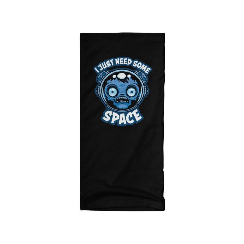 Zombie Astronaut Needs Some Space Accessories Neck Gaiter by Fizzgig's Artist Shop
