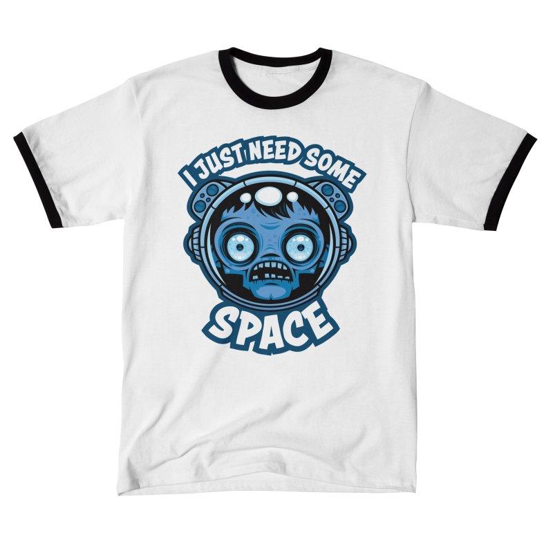 Zombie Astronaut Needs Some Space Men's T-Shirt by Fizzgig's Artist Shop