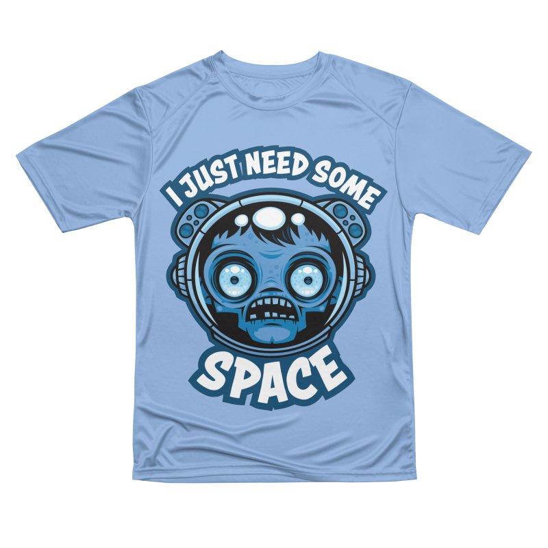 Zombie Astronaut Needs Some Space Women's T-Shirt by Fizzgig's Artist Shop