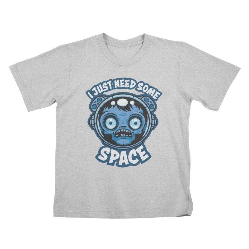 Zombie Astronaut Needs Some Space Kids T-Shirt by Fizzgig's Artist Shop