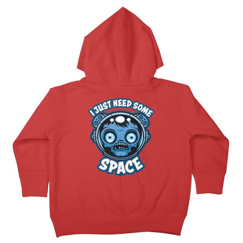 Zombie Astronaut Needs Some Space Kids Toddler Zip-Up Hoody by Fizzgig's Artist Shop