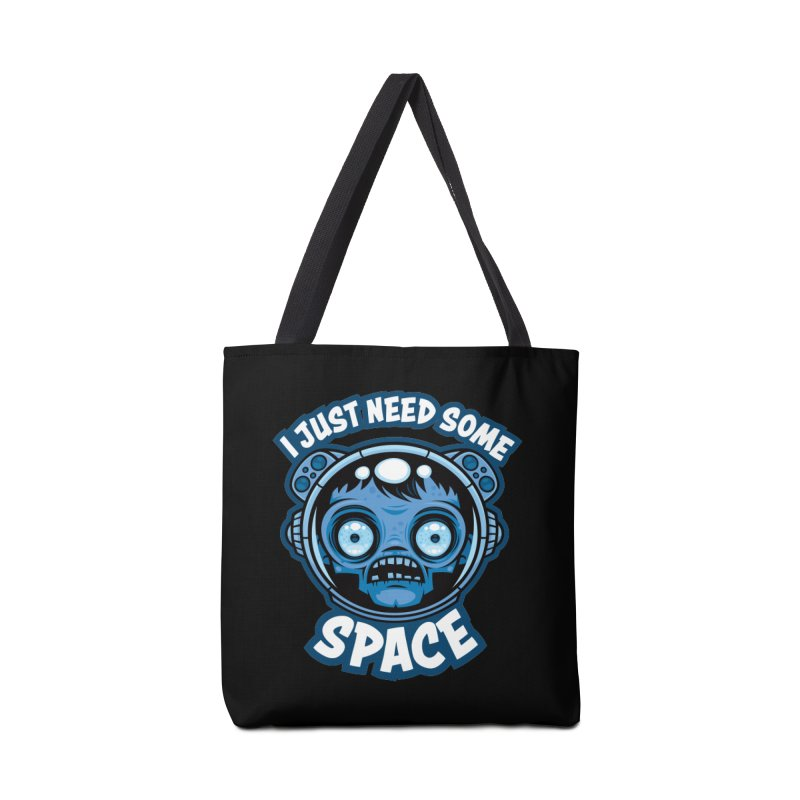 Zombie Astronaut Needs Some Space Accessories Bag by Fizzgig's Artist Shop