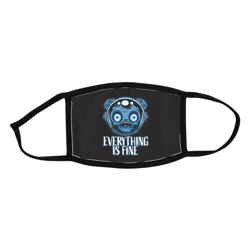 Zombie Astronaut Is Fine Accessories Face Mask by Fizzgig's Artist Shop