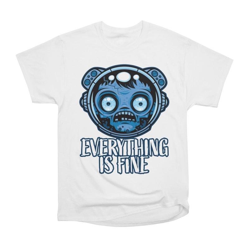 Zombie Astronaut Is Fine Women's T-Shirt by Fizzgig's Artist Shop