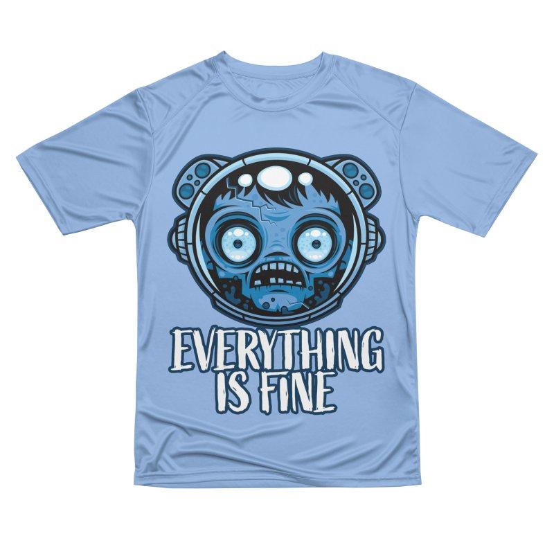 Zombie Astronaut Is Fine Men's T-Shirt by Fizzgig's Artist Shop