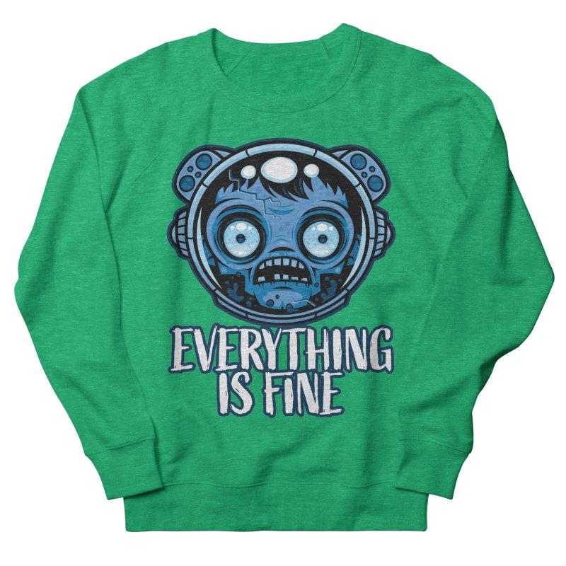 Zombie Astronaut Is Fine Women's Sweatshirt by Fizzgig's Artist Shop