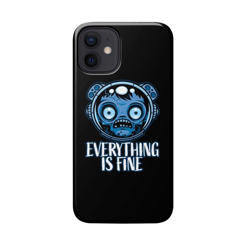 Zombie Astronaut Is Fine Accessories Phone Case by Fizzgig's Artist Shop