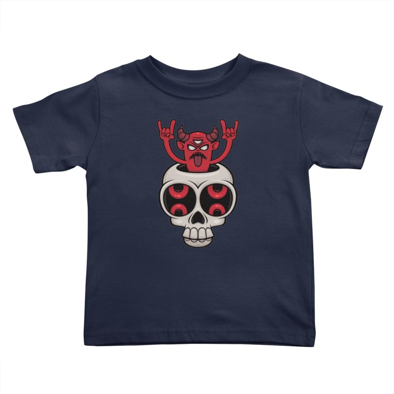 Possessed Kids Toddler T-Shirt by Fizzgig's Artist Shop