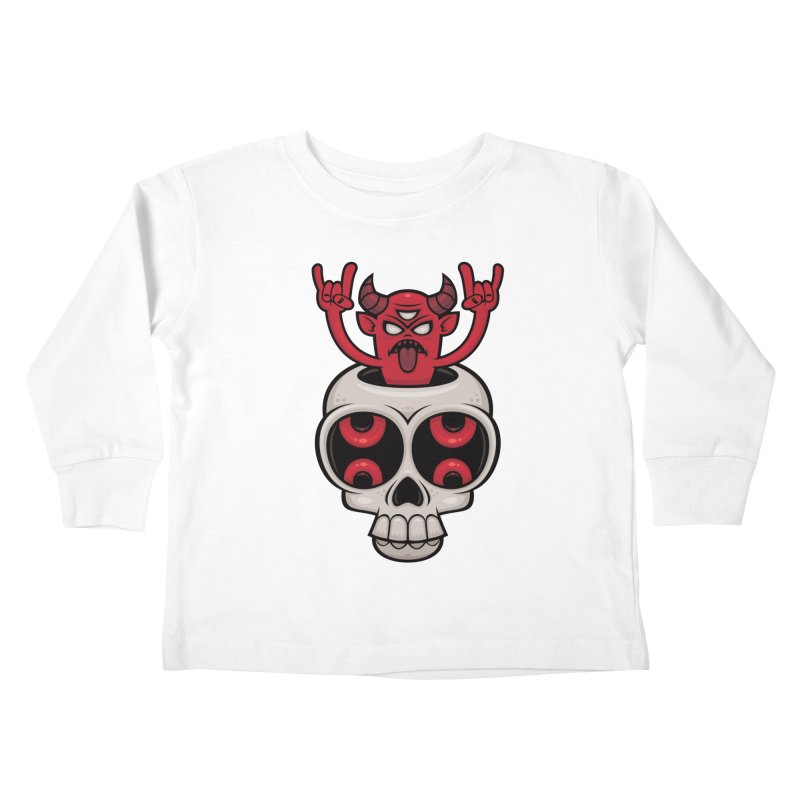 Possessed Kids Toddler Longsleeve T-Shirt by Fizzgig's Artist Shop