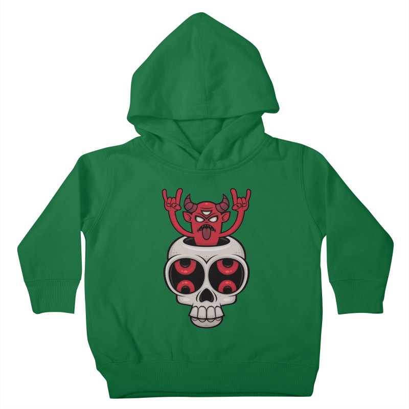 Possessed Kids Toddler Pullover Hoody by Fizzgig's Artist Shop