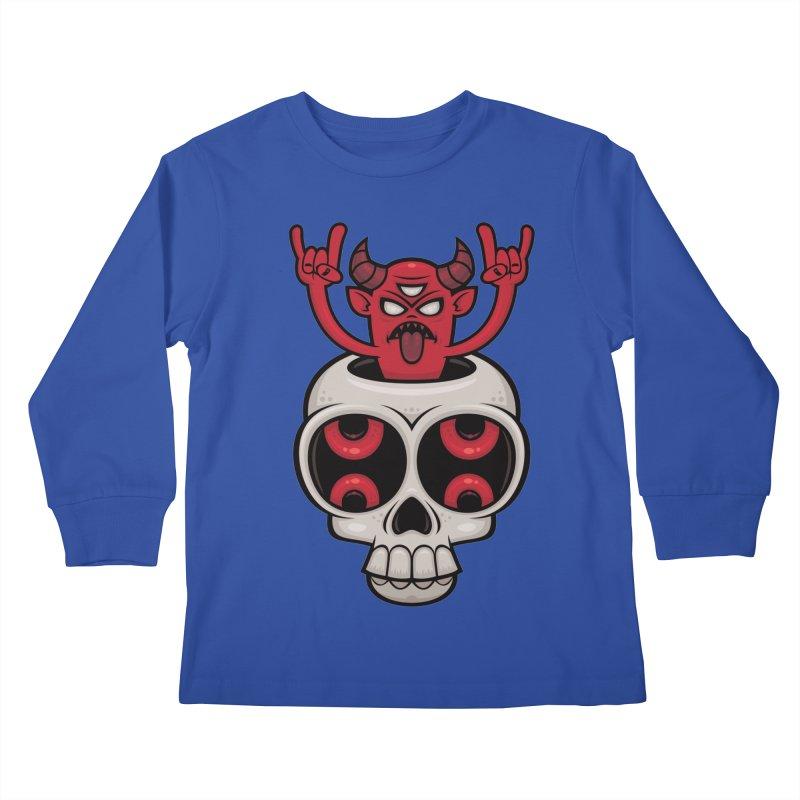 Possessed Kids Longsleeve T-Shirt by Fizzgig's Artist Shop