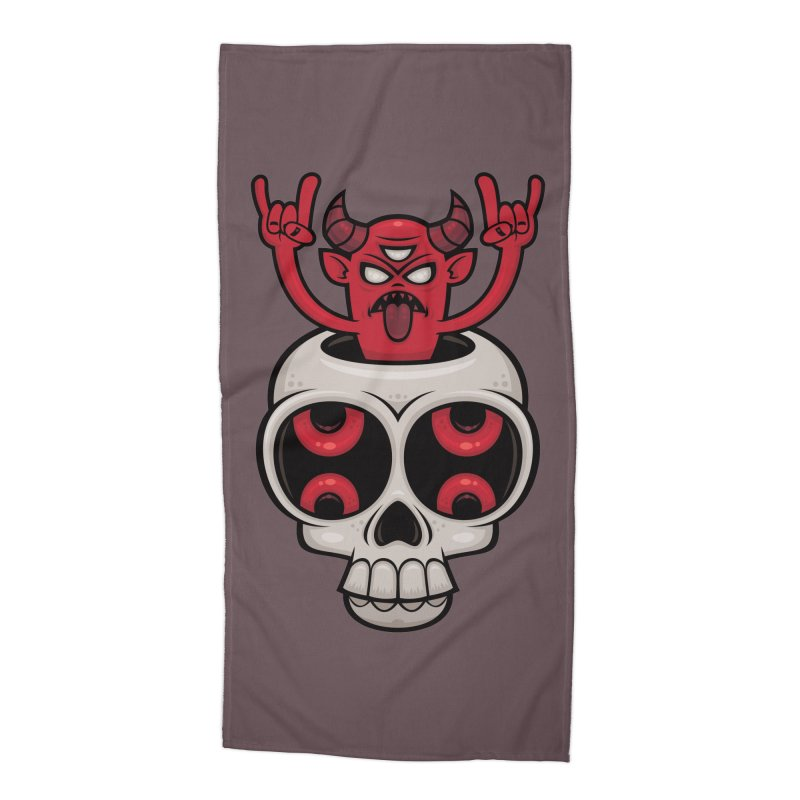 Possessed Accessories Beach Towel by Fizzgig's Artist Shop