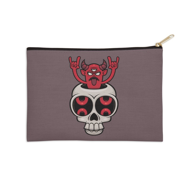 Possessed Accessories Zip Pouch by Fizzgig's Artist Shop