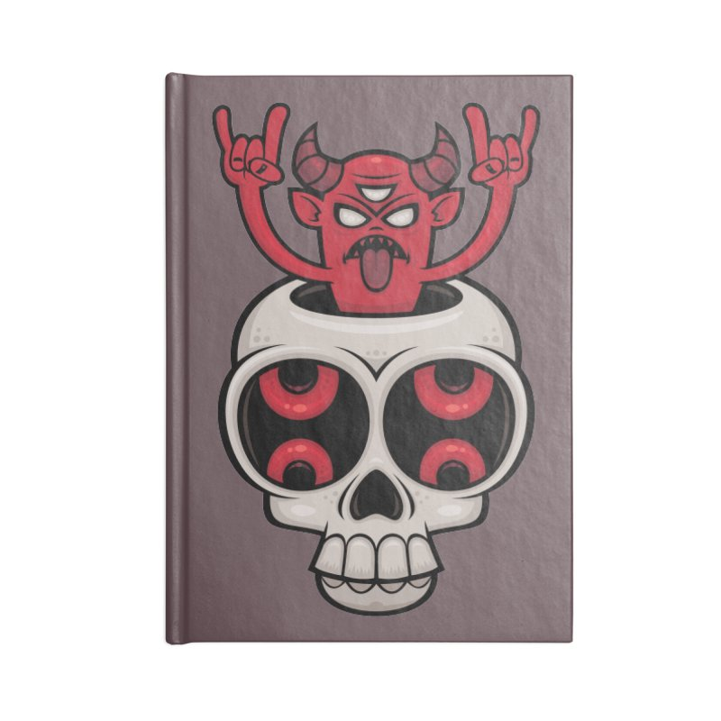 Possessed Accessories Notebook by Fizzgig's Artist Shop