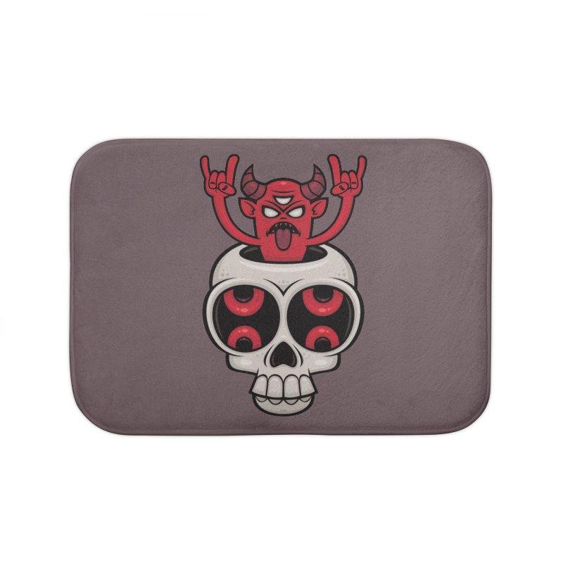 Possessed Home Bath Mat by Fizzgig's Artist Shop