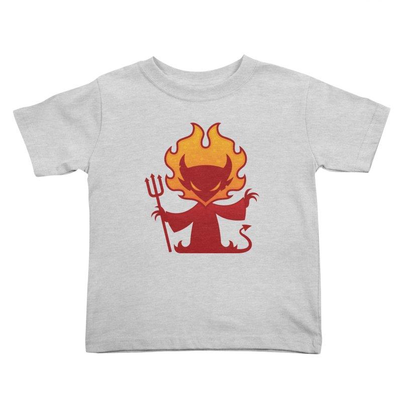 I'm The Devil Kids Toddler T-Shirt by Fizzgig's Artist Shop