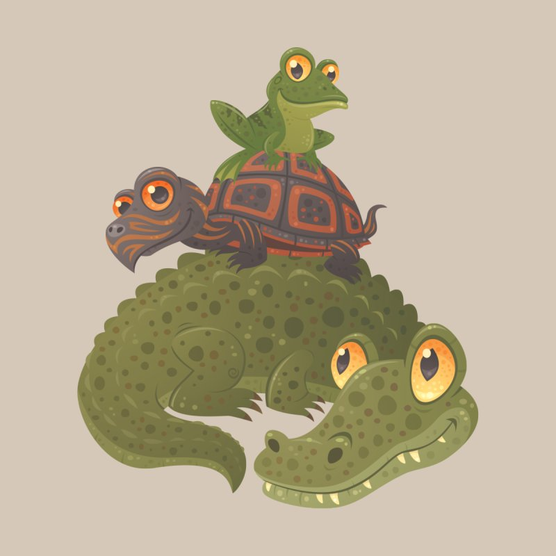 Swamp Squad by Fizzgig's Artist Shop
