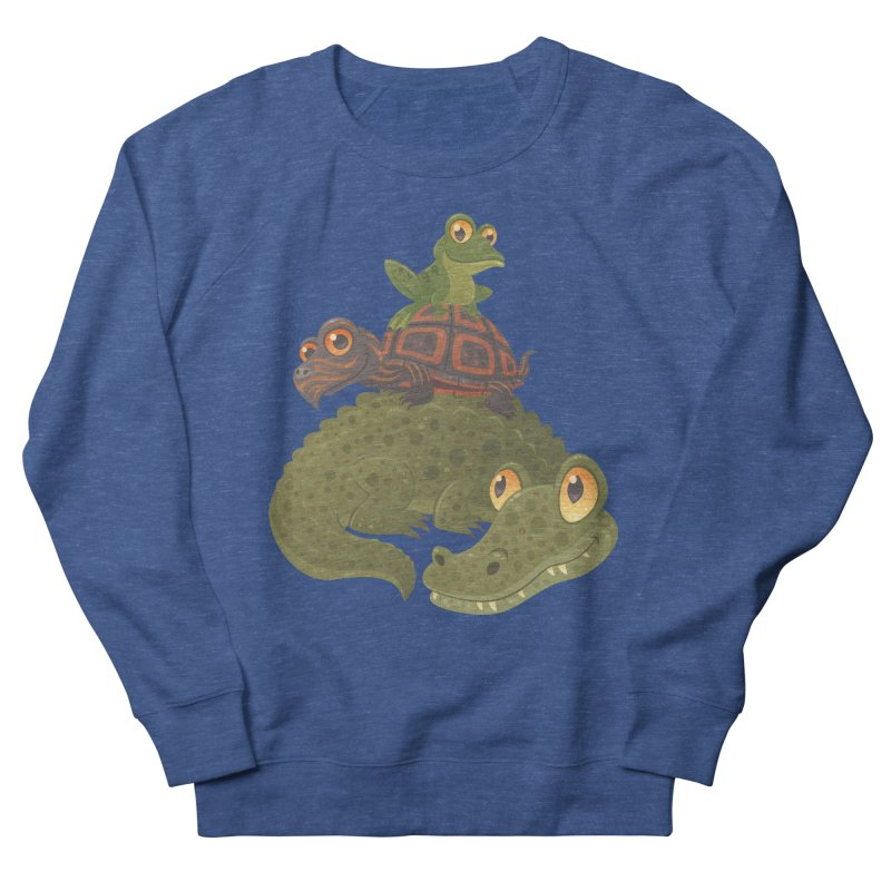 Swamp Squad Men's Sweatshirt by Fizzgig's Artist Shop