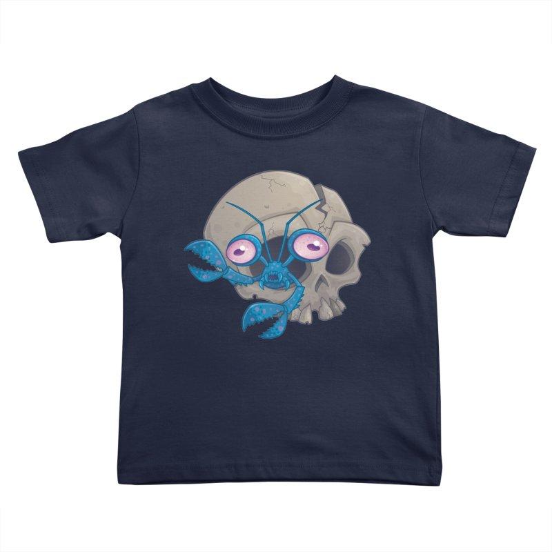 Eye Crustacea Kids Toddler T-Shirt by Fizzgig's Artist Shop