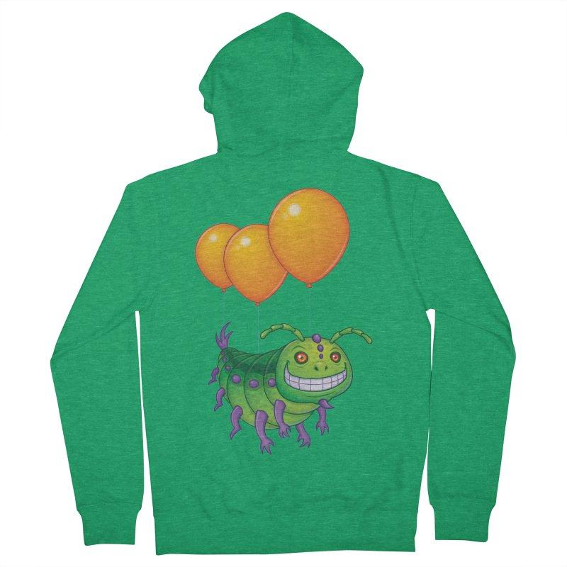 Impatient Caterpillar Women's Zip-Up Hoody by Fizzgig's Artist Shop