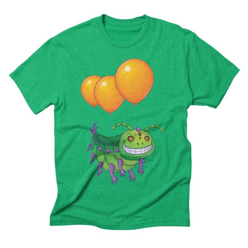 Impatient Caterpillar Men's Triblend T-Shirt by Fizzgig's Artist Shop