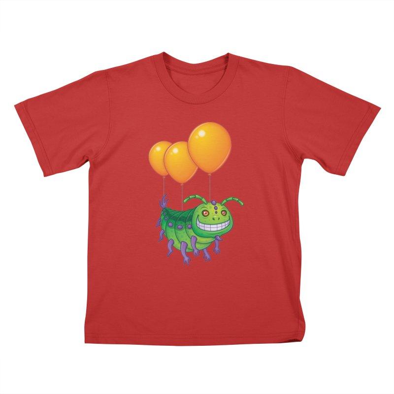 Impatient Caterpillar Kids T-Shirt by Fizzgig's Artist Shop
