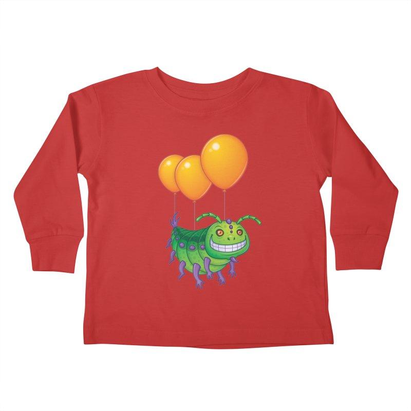 Impatient Caterpillar Kids Toddler Longsleeve T-Shirt by Fizzgig's Artist Shop