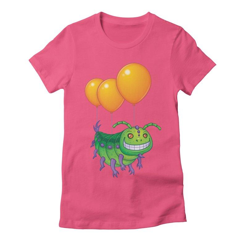 Impatient Caterpillar Women's Fitted T-Shirt by Fizzgig's Artist Shop