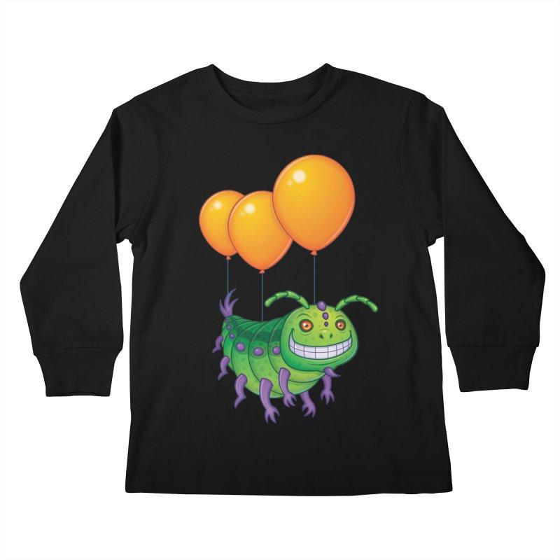 Impatient Caterpillar Kids Longsleeve T-Shirt by Fizzgig's Artist Shop