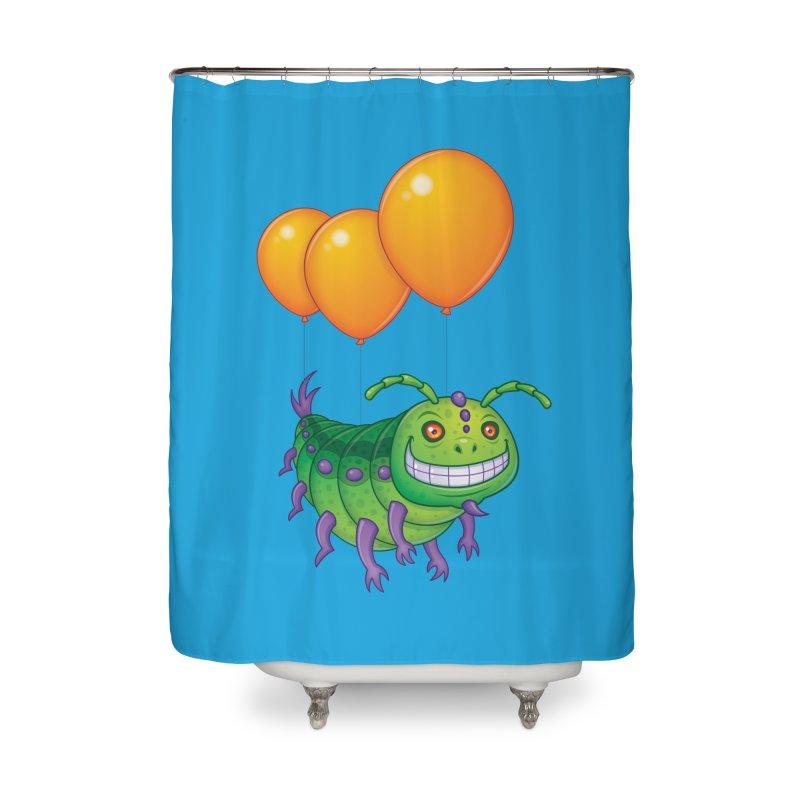 Impatient Caterpillar Home Shower Curtain by Fizzgig's Artist Shop