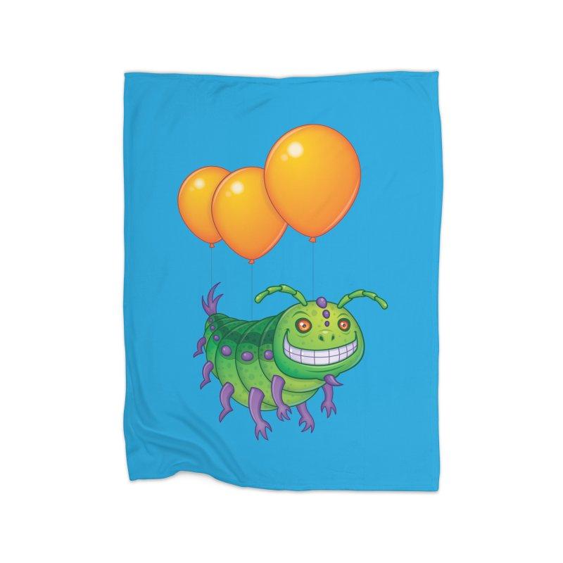 Impatient Caterpillar Home Blanket by Fizzgig's Artist Shop