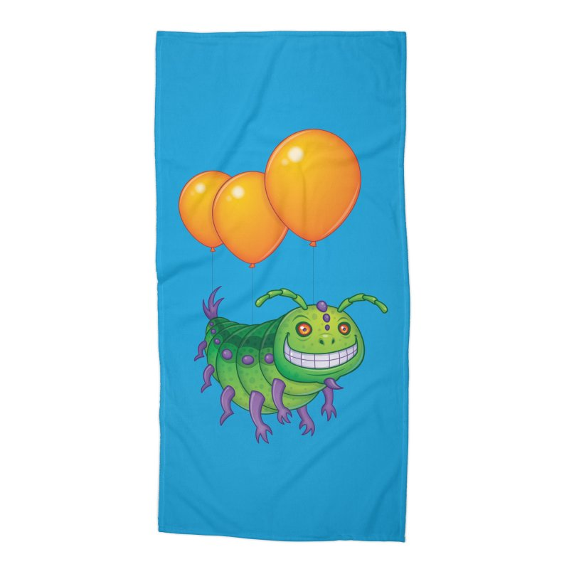 Impatient Caterpillar Accessories Beach Towel by Fizzgig's Artist Shop