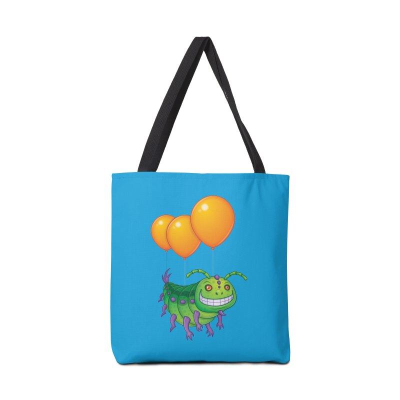 Impatient Caterpillar Accessories Bag by Fizzgig's Artist Shop