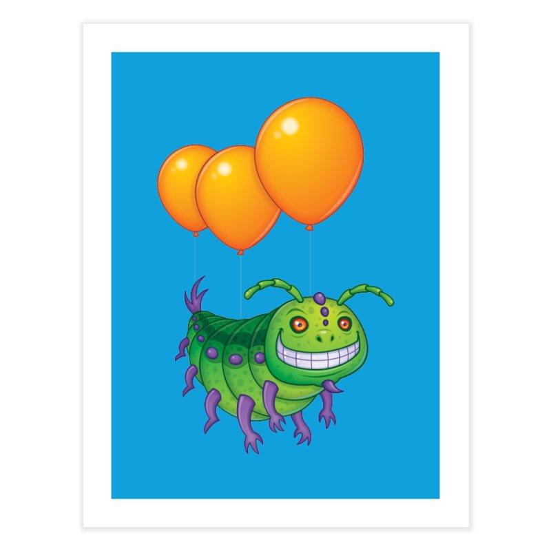 Impatient Caterpillar Home Fine Art Print by Fizzgig's Artist Shop