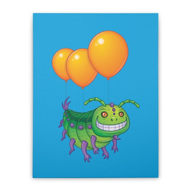 Impatient Caterpillar Home Stretched Canvas by Fizzgig's Artist Shop