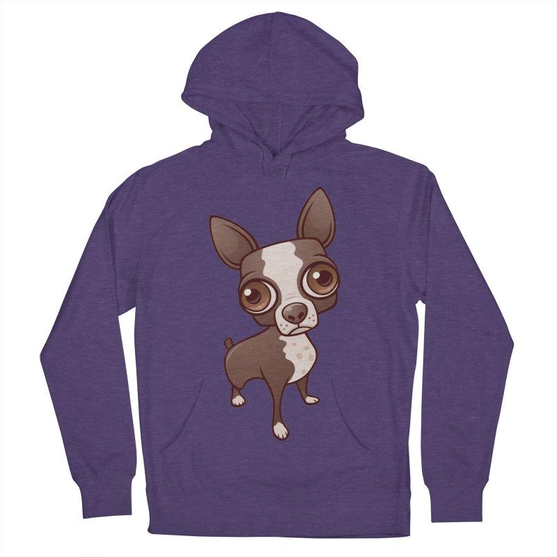 Zippy the Boston Terrier Men's Pullover Hoody by Fizzgig's Artist Shop