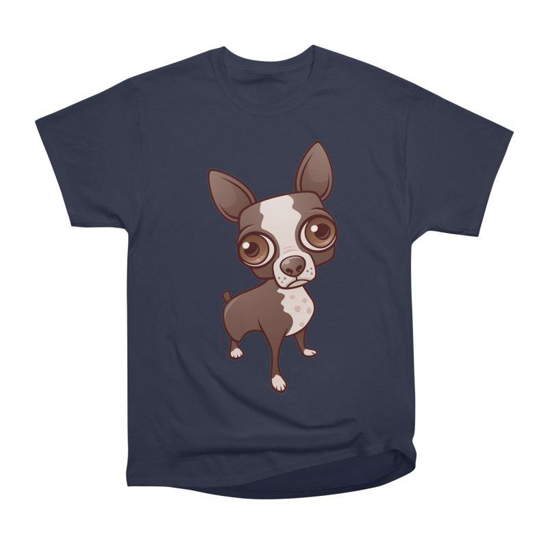 Zippy the Boston Terrier Women's Classic Unisex T-Shirt by Fizzgig's Artist Shop