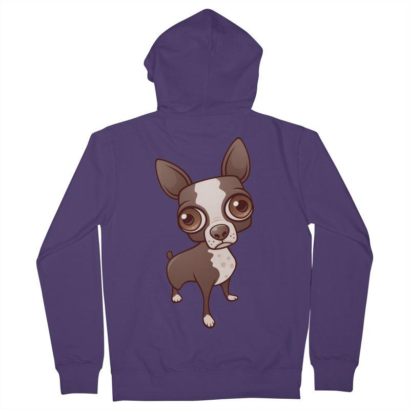 Zippy the Boston Terrier Women's Zip-Up Hoody by Fizzgig's Artist Shop