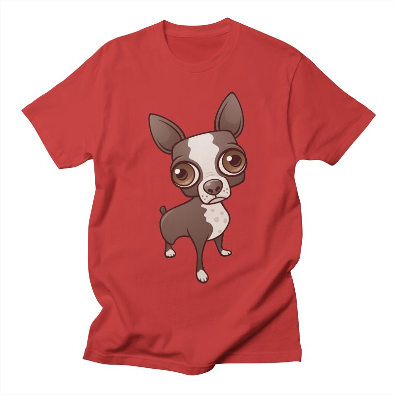 Zippy the Boston Terrier Women's Unisex T-Shirt by Fizzgig's Artist Shop