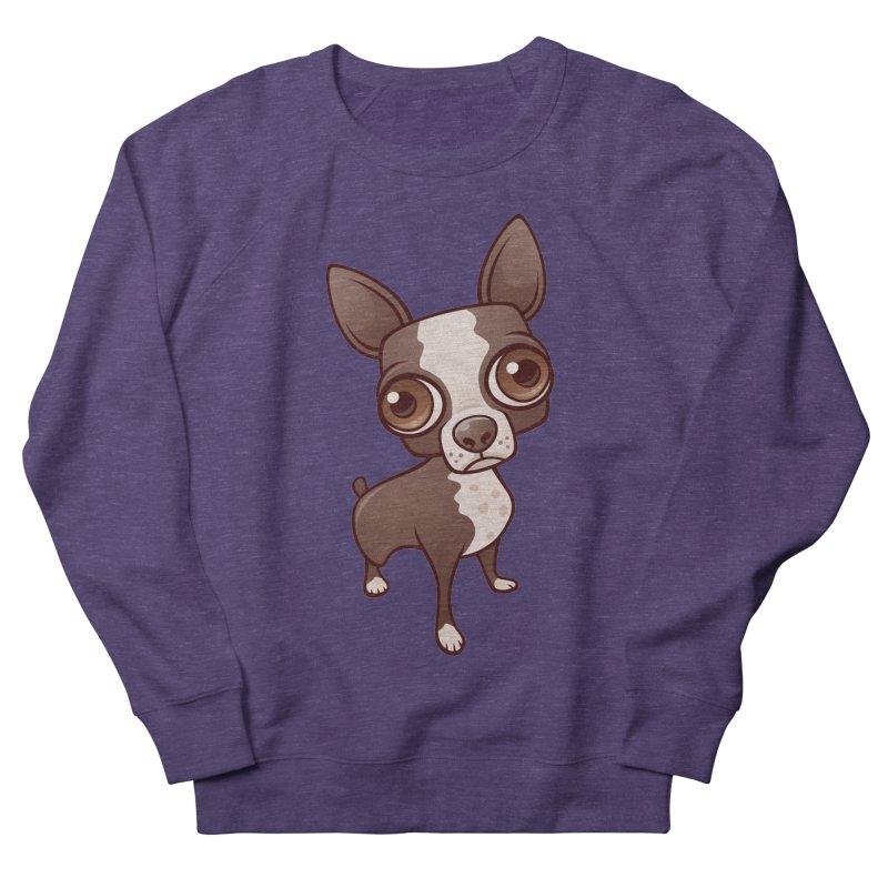 Zippy the Boston Terrier Women's Sweatshirt by Fizzgig's Artist Shop