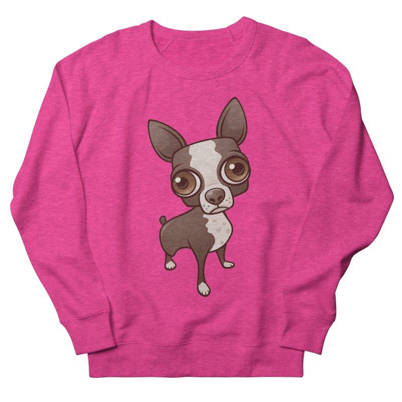 Zippy the Boston Terrier Men's Sweatshirt by Fizzgig's Artist Shop