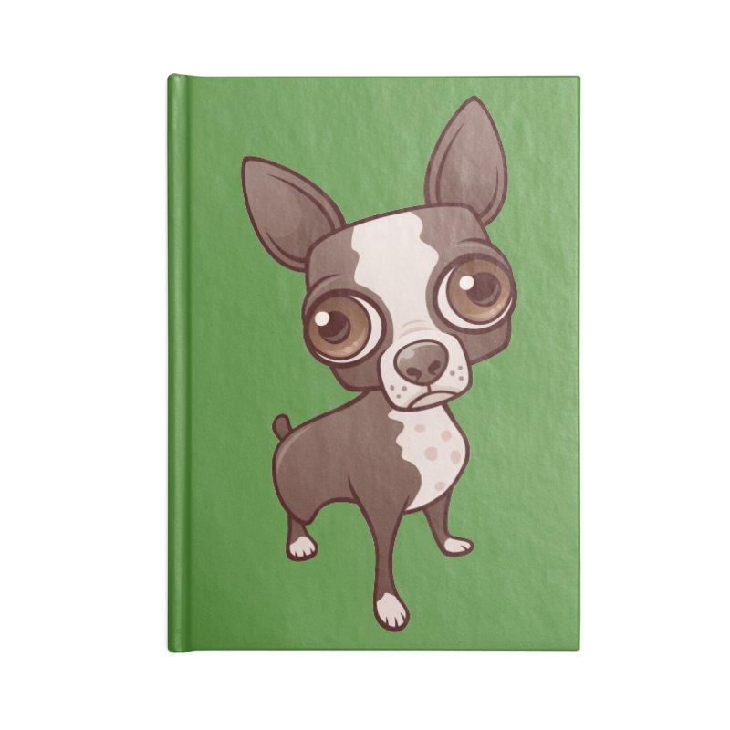 Zippy the Boston Terrier Accessories Notebook by Fizzgig's Artist Shop