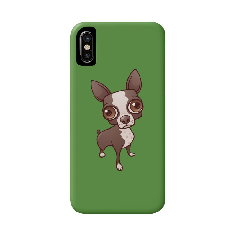 Zippy the Boston Terrier Accessories Phone Case by Fizzgig's Artist Shop